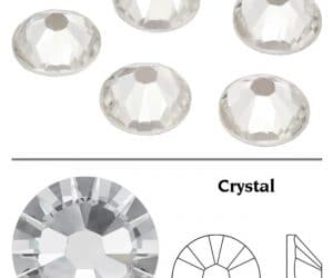 SW Crystal strasszkő Crystal Clear (001) SS3