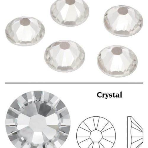 SW Crystal Rhinestones Crystal Clear (001) SS3