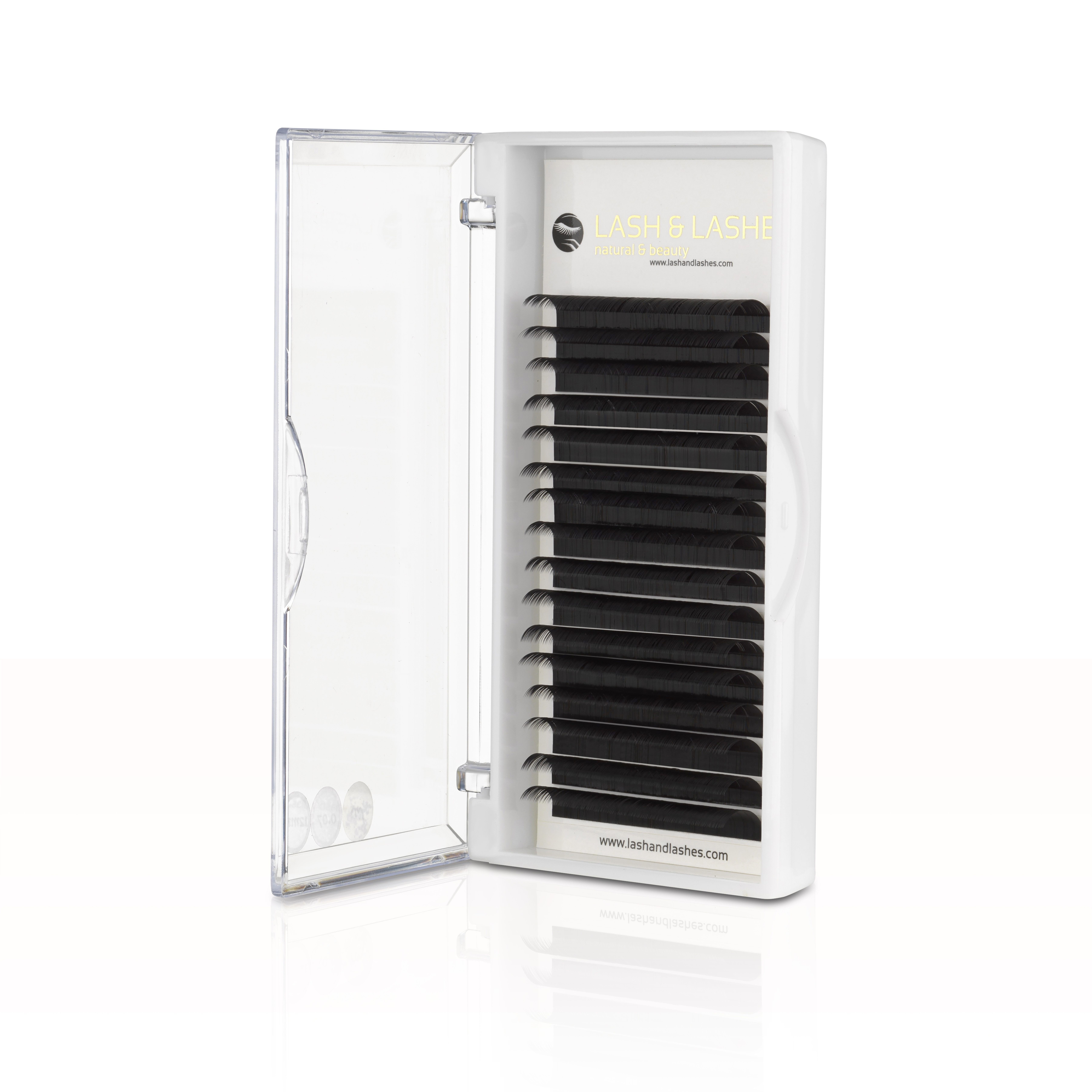 LC-LD CURVED 0,07mm and 0,15mm Eyelashes, One Size - Lash ...
