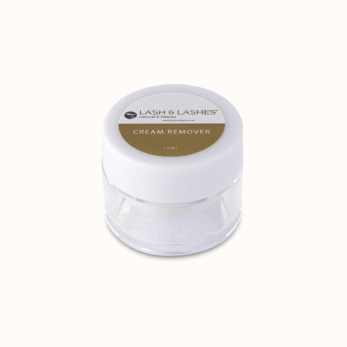 Eyelash adhesive remover, release cream