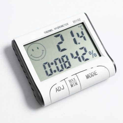 Multifunkcionális Hő és Páratartalom-mérő
