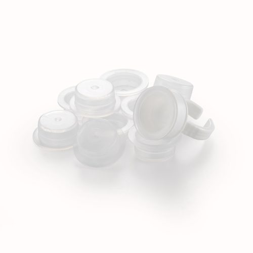 PLASTIC GLUE RING 10pc WITH REPLACEABLE PEN-TRAY