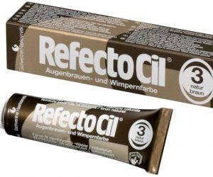 RefectoCil eyelash and eyebrow tint 3. BROWN