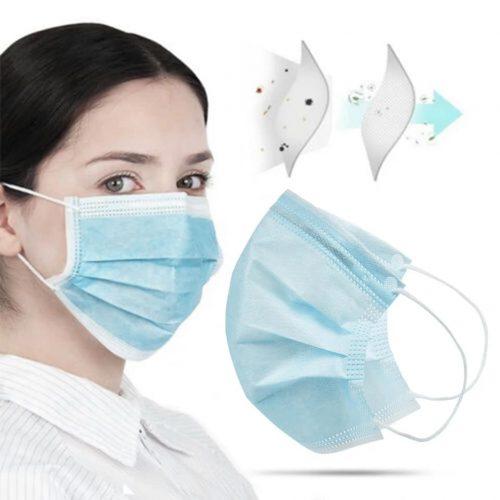3 rétegű légzésvédő maszk