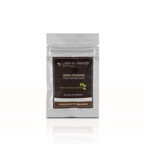 Henna Szemöldökfesték Csokoládébarna (chocolate brown) – 2g.
