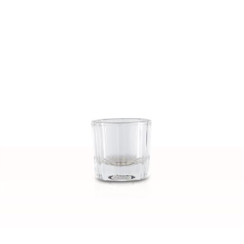Üveg keverő tálka